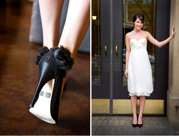 Pantofi de mireasa negri