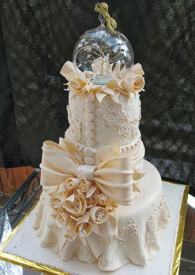 Tort de nunta elegant 2014