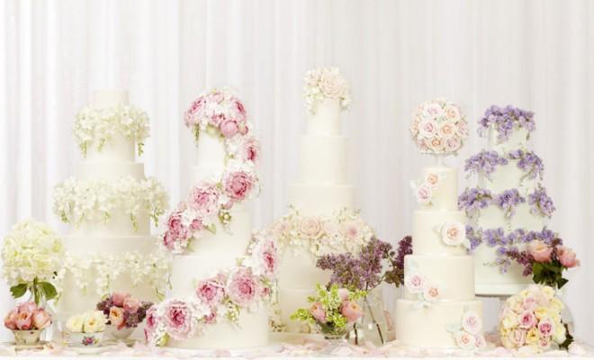 Torturi de nunta la moda in 2014