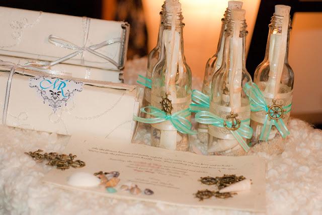 idei de invitatii nunta in sticla