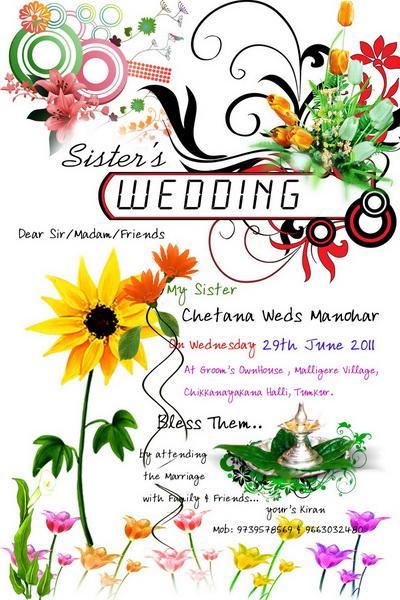 invitatie de nunta creativa