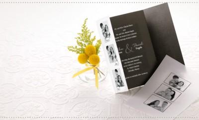 invitatie de nunta cu poze