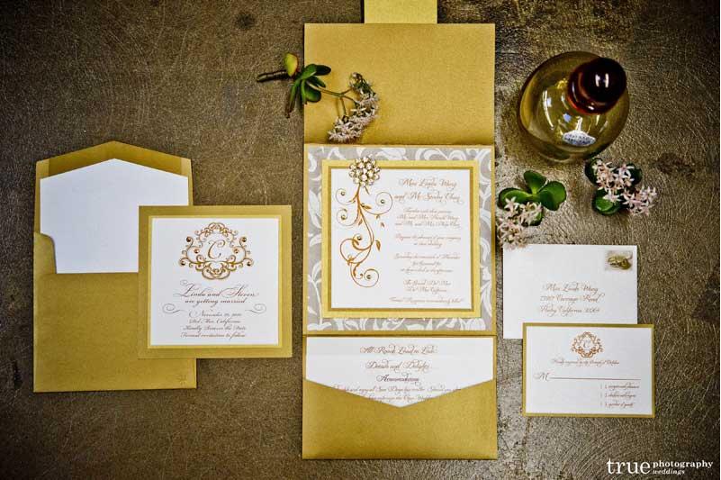 invitatie de nunta de lux