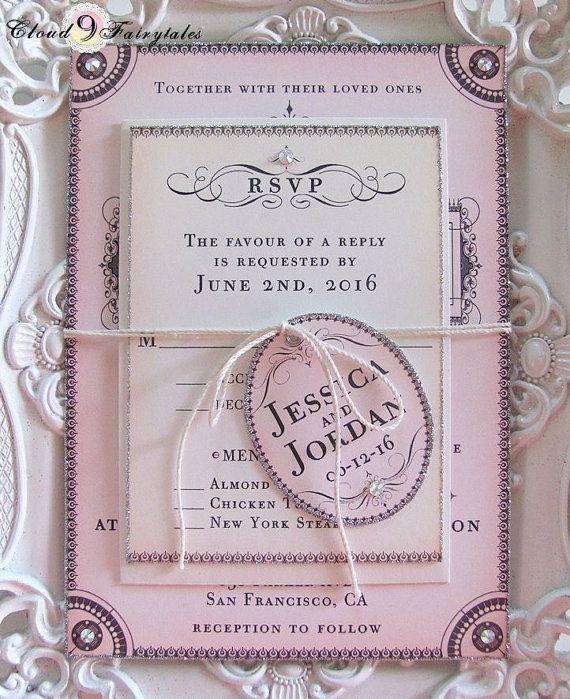 invitatie de nunta facuta manual