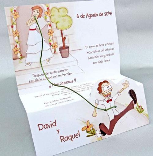 invitatie de nunta haioasa 2014