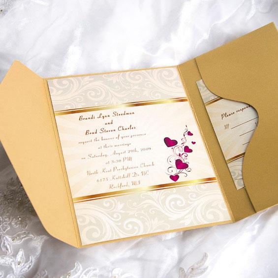 invitatie eleganta pentru nunta