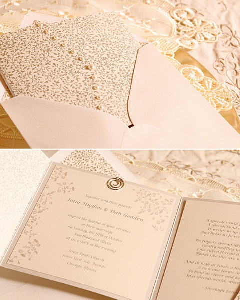 invitatie la nunta romantica