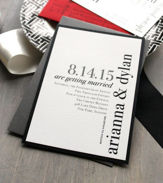 invitatie moderna 2015