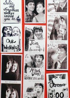 invitatie nunta cu fotografii