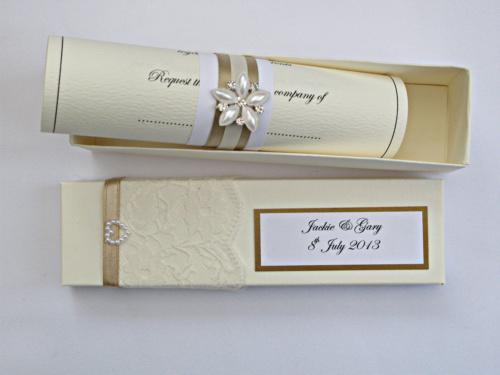 invitatie nunta papirus