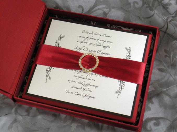 invitatii de nunta in cutie
