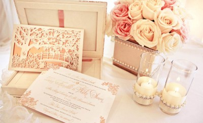 invitatii la nunta romantice