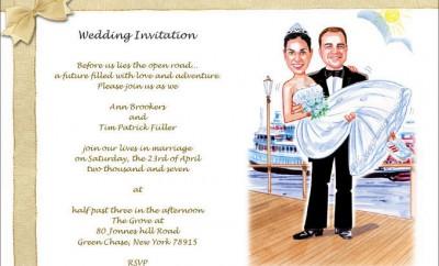 invitatii nunta haioase
