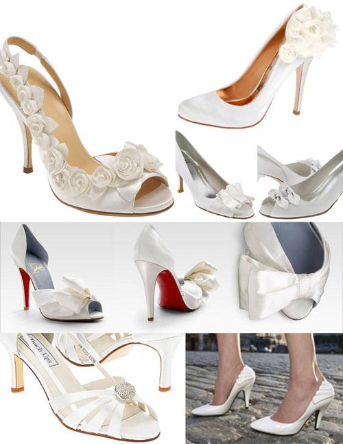 model Pantofi mireasa Badgley Mischka