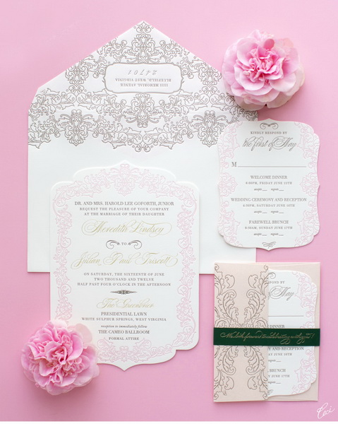 model de invitatie romantica