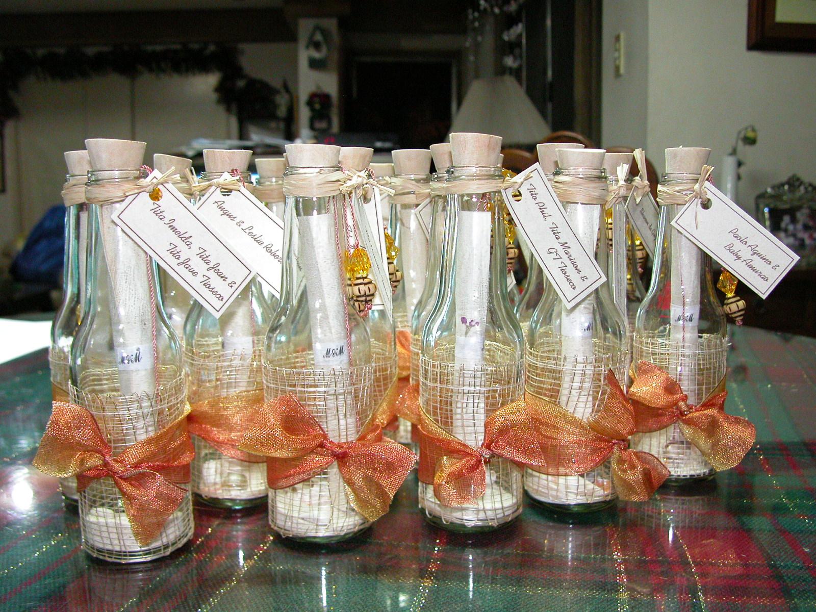 modele de invitatii de nunta in sticla