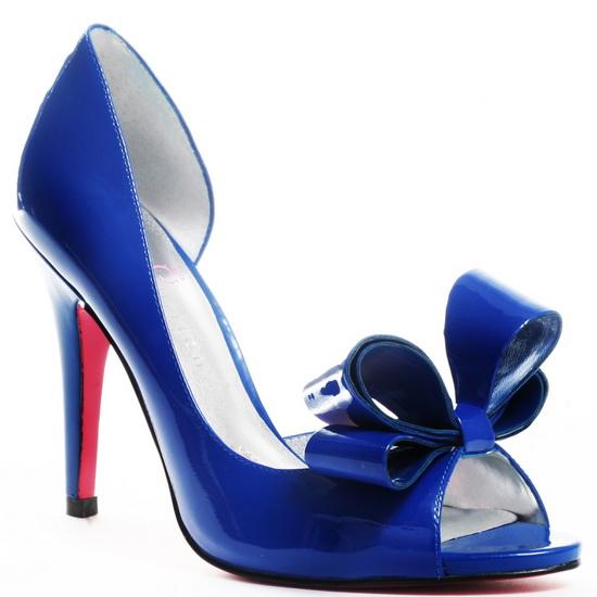 pantofi cu lac pentru mirese