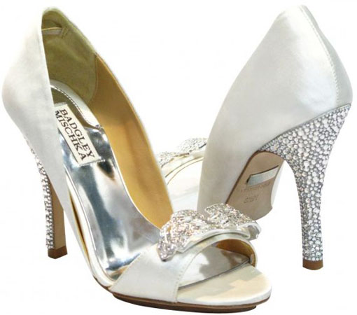 pantofi cu pietre Badgley Mischka