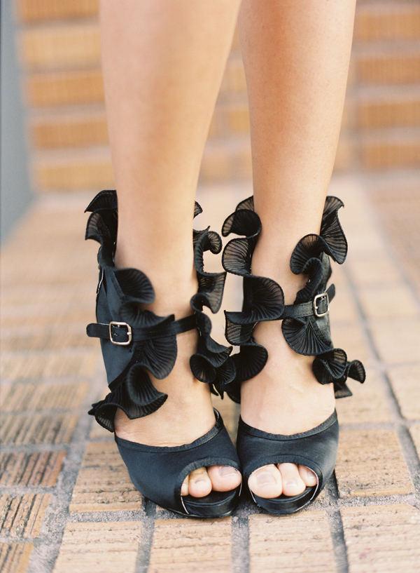 platforme negre pentru nunta