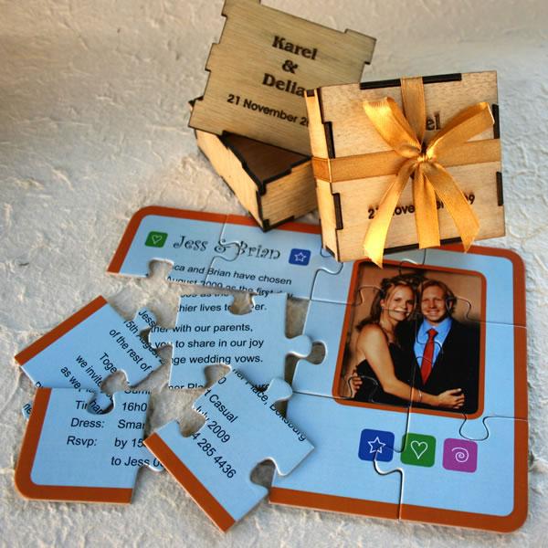puzzle pentru invitatie la nunta