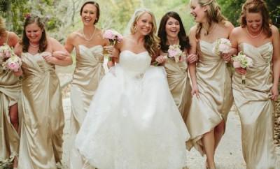rochii aurii pentru nunta