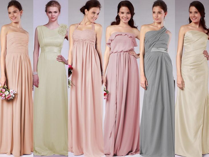rochii domnisoare de onoare lungi