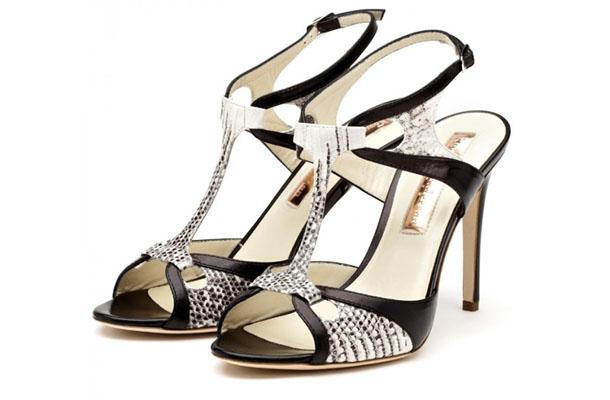 sandale negri pentru mireasa