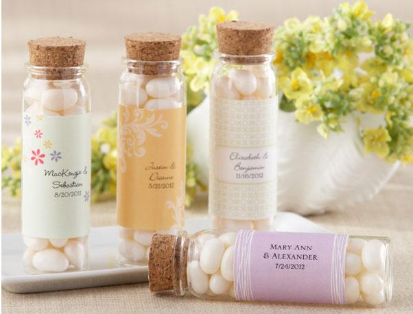 Borcanele cu bomboane pentru marturii de nunta