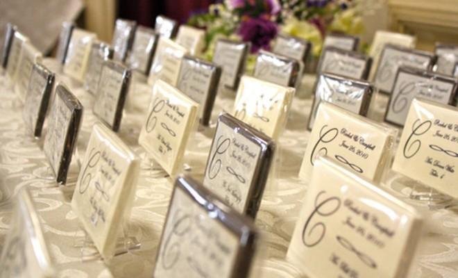Marturii de nunta din ciocolata