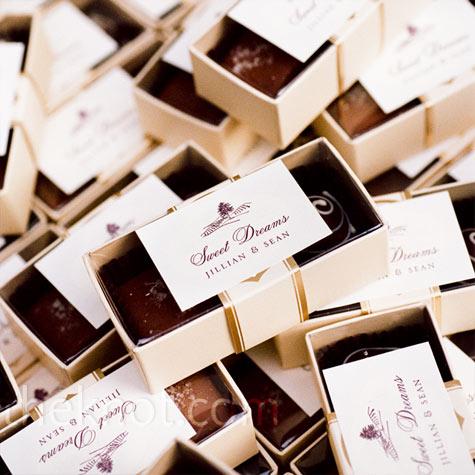 Marturii nunta cu ciocolata