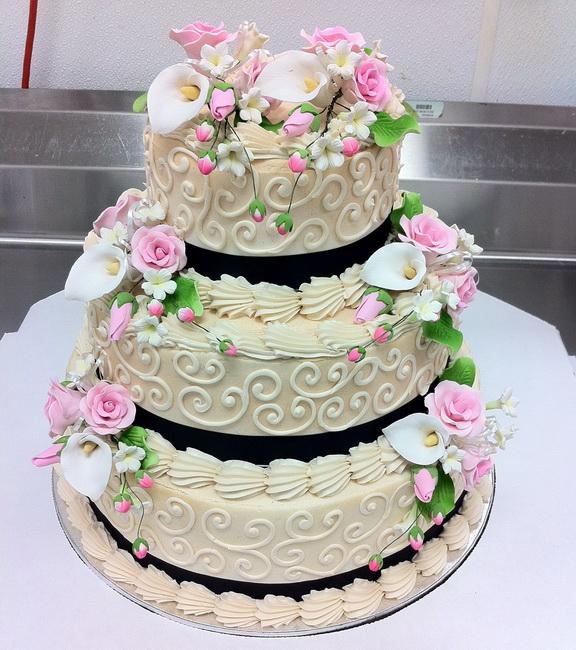 tort cu frisca pentru nunta