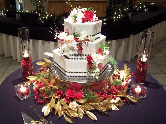 tort nunta pentru Craciun