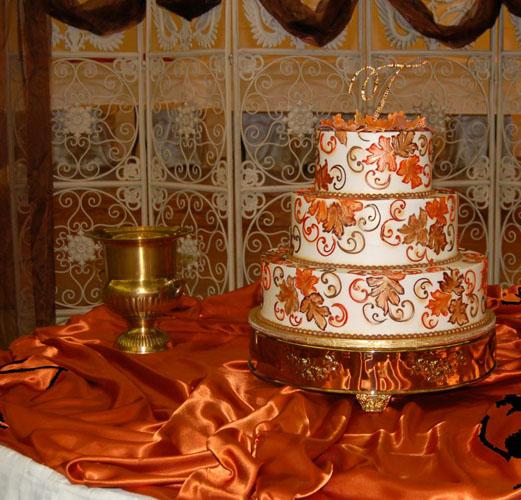 tort nunta pentru toamna
