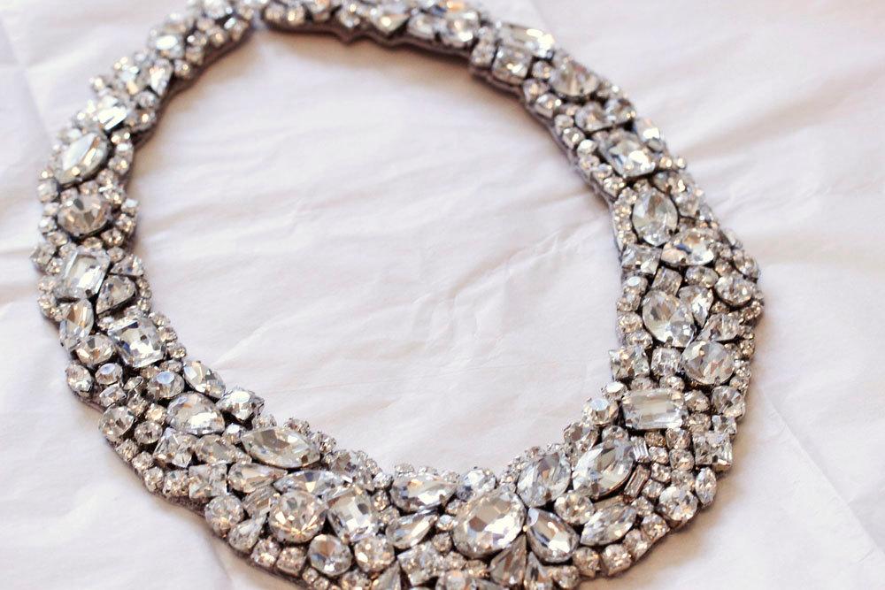 colier cu diamante pentru mirese