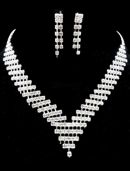 colier din argint mirese