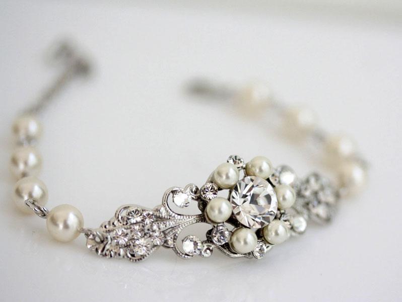 coronita mireasa cu perle