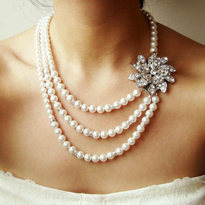 margele mireasa cu perle