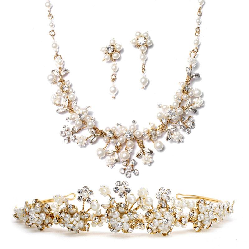 set de bijuterii cu perle