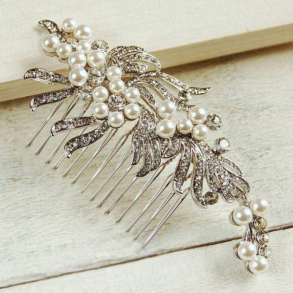 tiara mirese cu perle