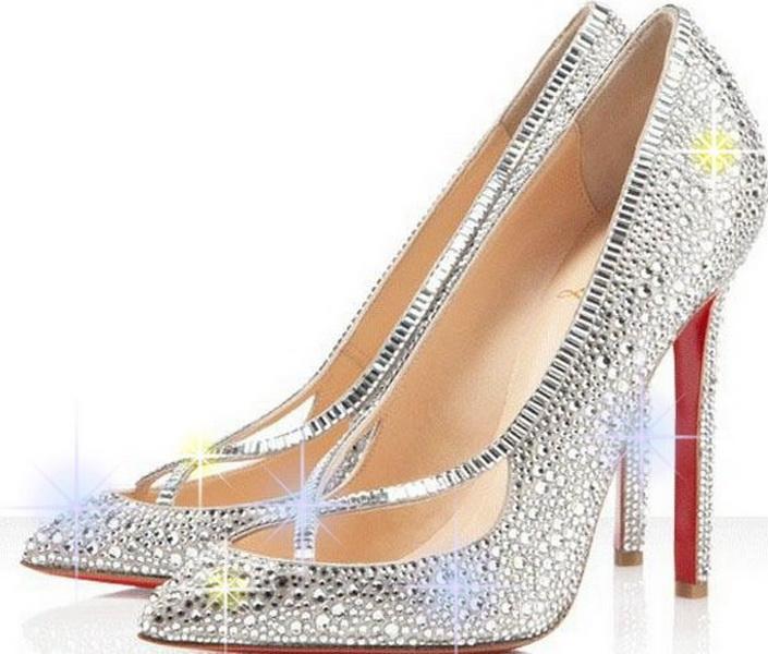 pantofi mireasa cu cristale