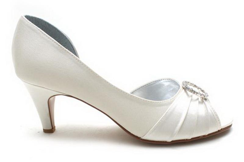 pantofi mireasa cu toc mic
