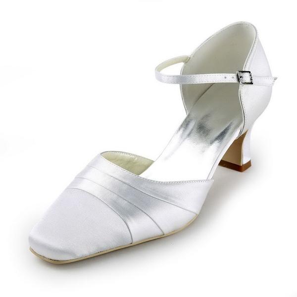 pantofi mireasa din satin