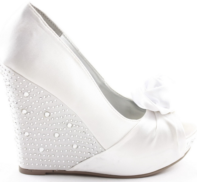 pantofi platforma pentru mirese