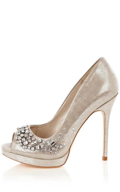pantofi cu toc cu cristale swarovski