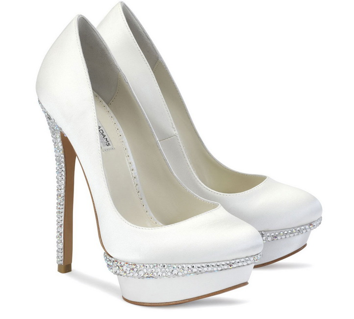 pantofi de nunta cu toc inalt