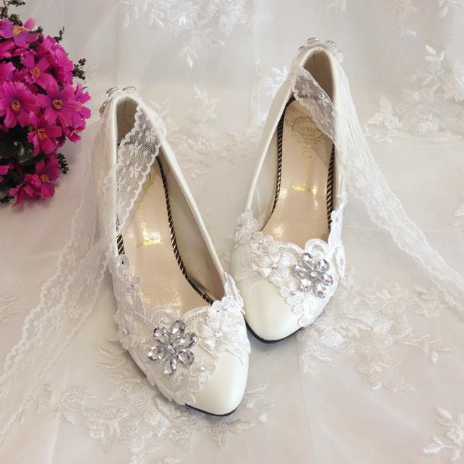 pantofi mireasa cu dantela 2015