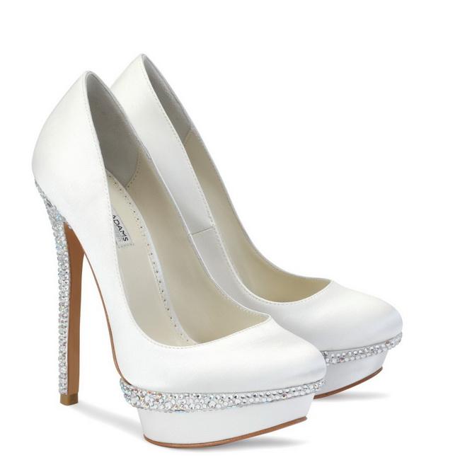 pantofi mireasa cu diamante