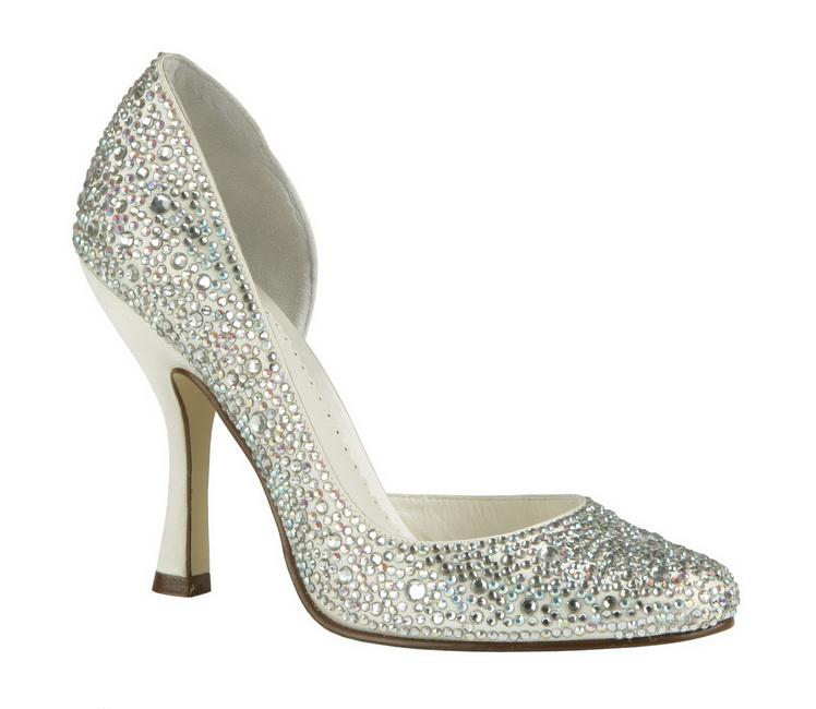 pantofi nunta cu pietre swarovski