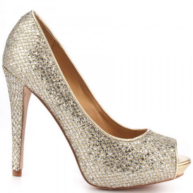 pantofi platforma cu pietre
