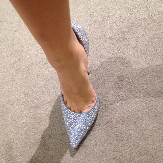 pantofi stiletto cu cristale swarovski